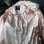 pudrowy sliczny płaszcz wiosenny Atmosphere S