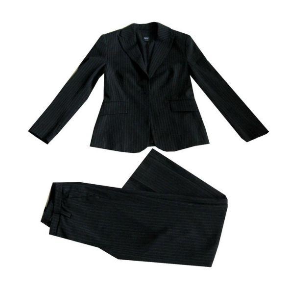 Czarny Kostium Garsonka L XL dla Wysokiej