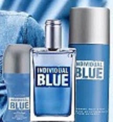 avon individual Blue zestaw