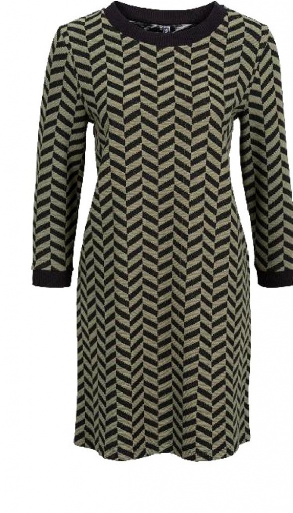 Suknie i sukienki Prosta sukienka tunika żakardowy wzór r 40 lub 42