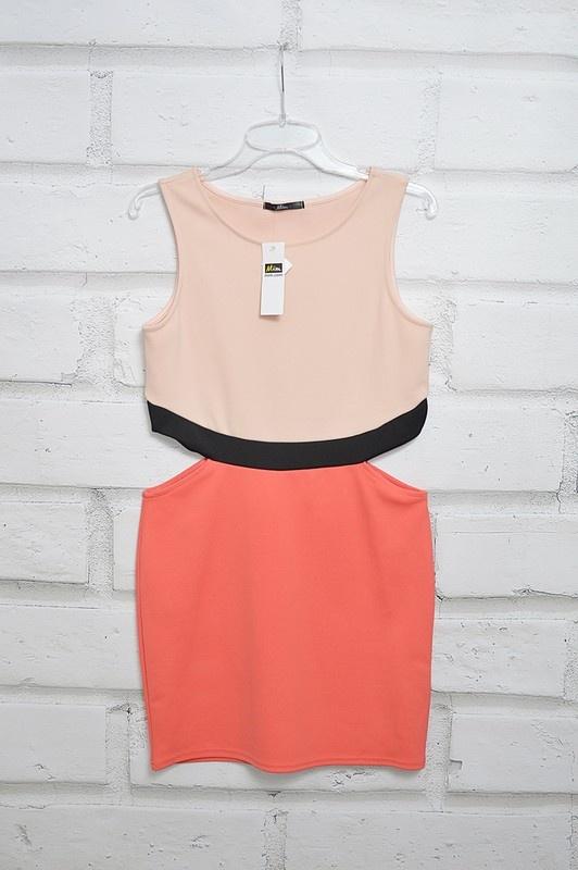 Nowa mini sukienka wycięcia ołówkowa