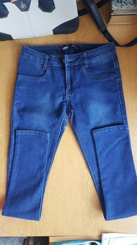 Sliczne Spodnie jeansy rurki skinny levis s 36