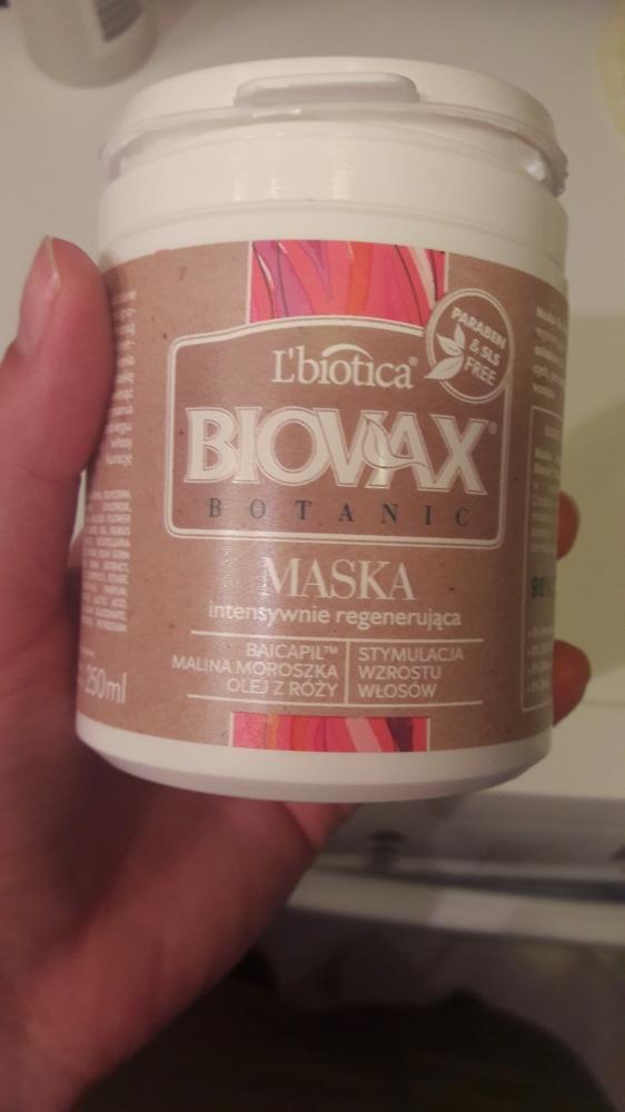 Maska do włosów Biovax Botanic