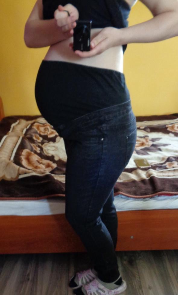 Spodnie dżinsowe ciążowe 44...