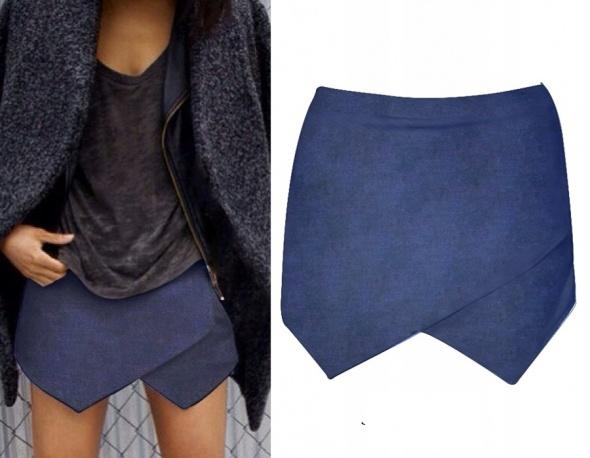 Spodenko spódniczka alla jeans rozmiar SM