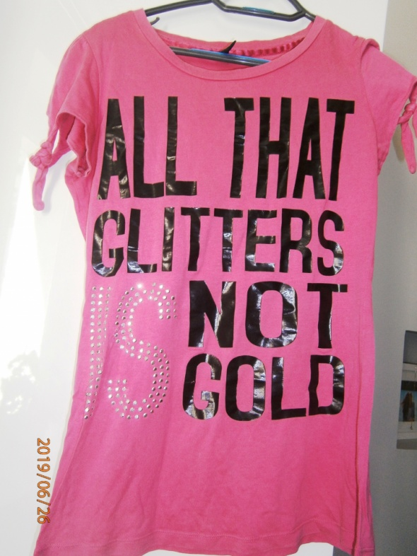 T-shirt różowy Tshirt S only