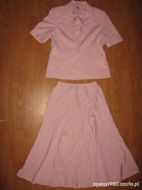 Komplet żakiet spódnica