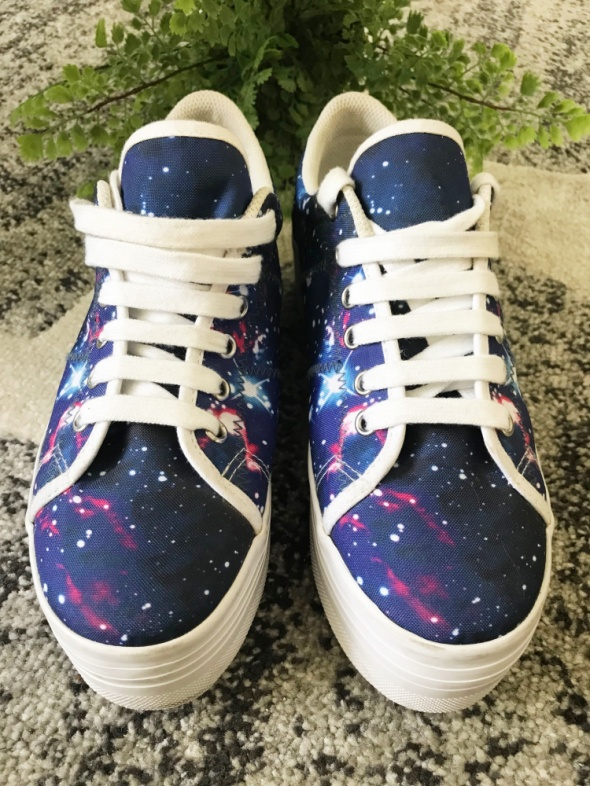 Jeffrey Campbell JC platformy sneakers Cosmiczne Galaxy Jak Now...