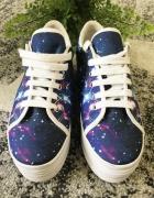 Jeffrey Campbell JC platformy sneakers Cosmiczne Galaxy Jak Now...