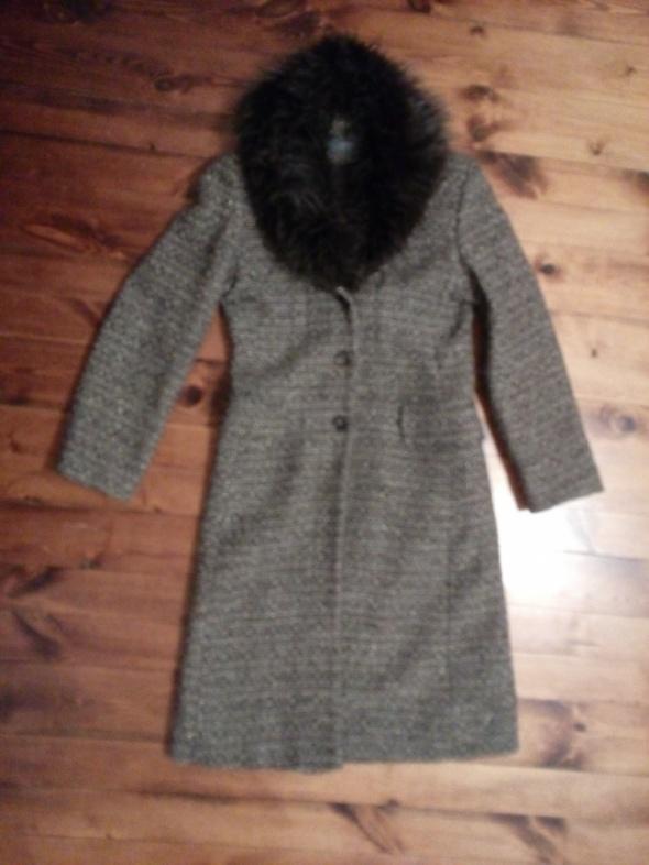 Odzież wierzchnia Płaszcz z dopinanym kołnierzem M