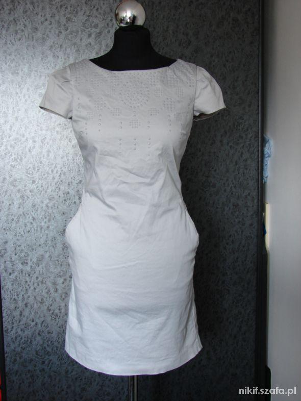 Szara sukienka OASIS...