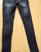 granatowe jeansy miss sixty...