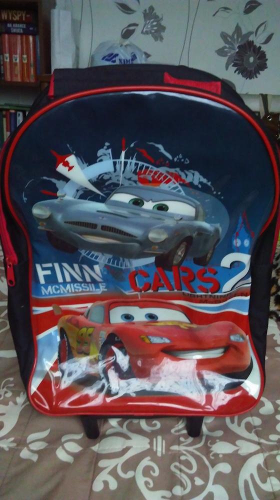 Dodatki Walizka plecak Cars Zygzak
