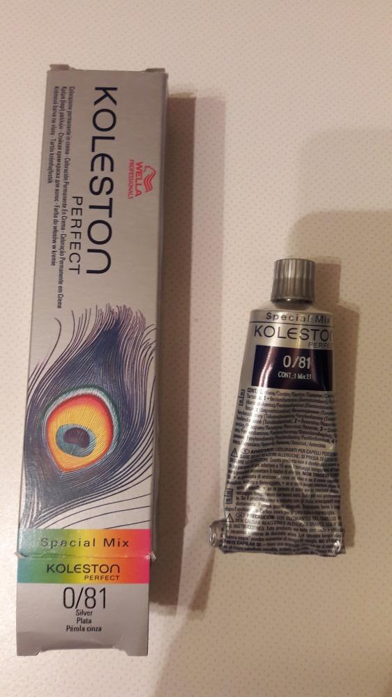 Toner farba do włosów Wella Koleston Special Mix kolor 081