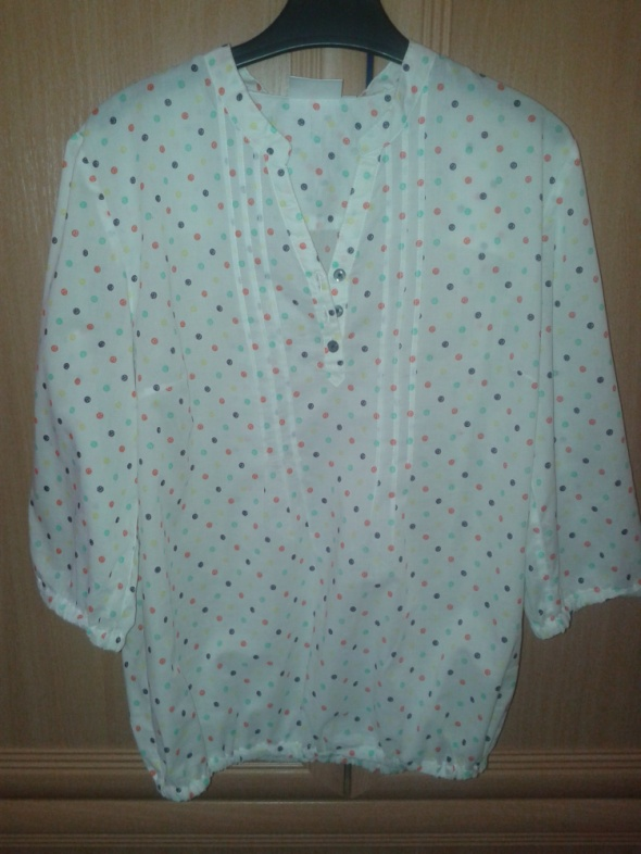bluzeczka 40 kropki