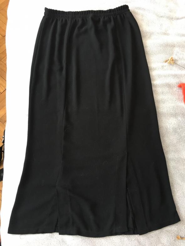 Czarna spódniczka na gumce rozm XL