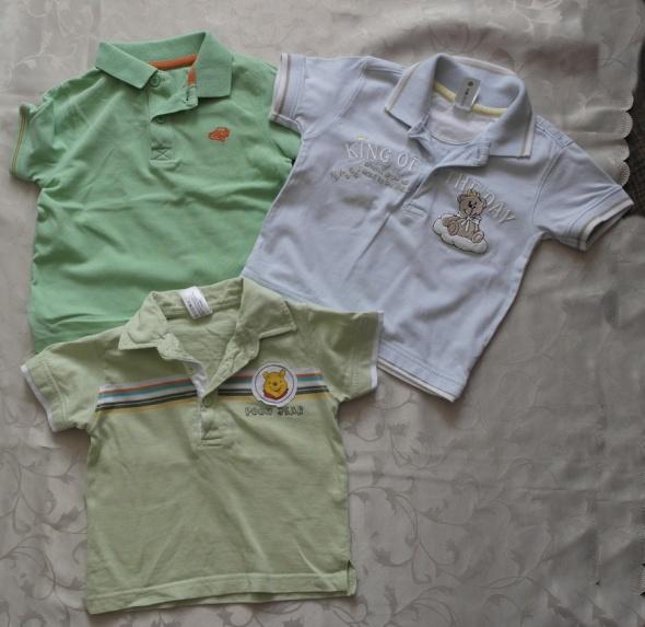 Koszulki polo trzy sztuki 86