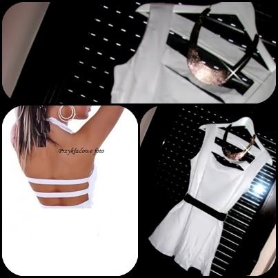 Cudna NOWA biała sukienka rozkloszowana