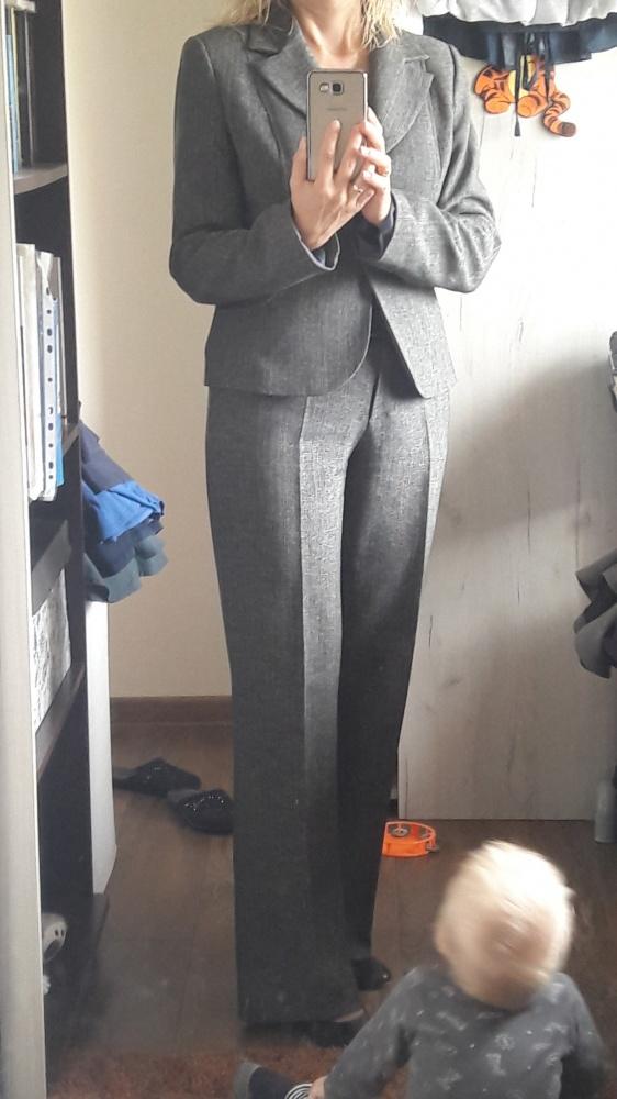 Kostium żakiet i spodnie