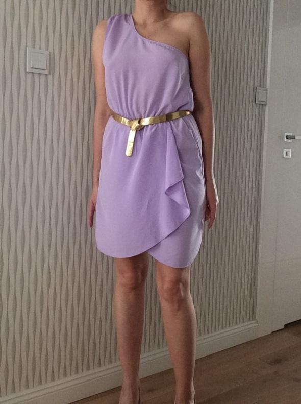 liliowawrzosowa sukienka ASOS r 38 M...