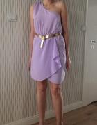 liliowawrzosowa sukienka ASOS r 38 M