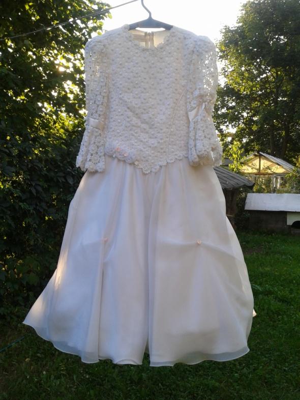 sukienka na KOMUNIĘ