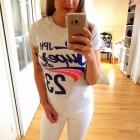 Szara bluzka koszulka super dry S 36