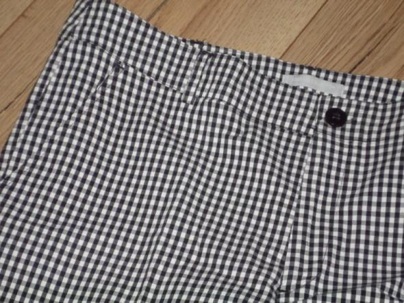 rozm 40 42 L XL 3SUISSES spodnie cygaretki kratka pepitka