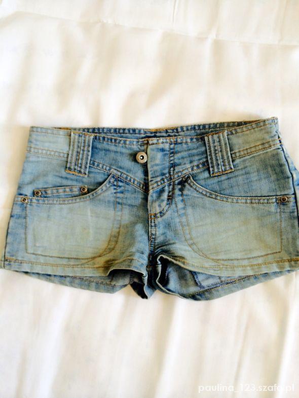 Jeansowe szorty dżinsowe szorty 34