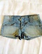 Jeansowe szorty dżinsowe szorty 34...