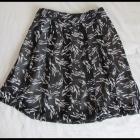 Spódnica z plisami zakładkami 40 L super na lato