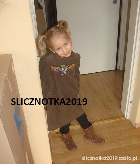 ZARA 4 5 lat sukienka Nowa