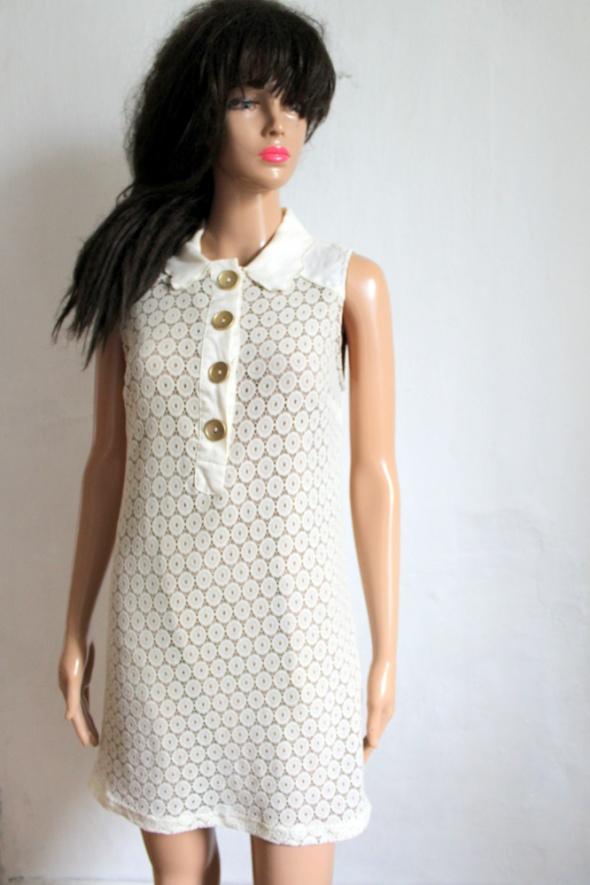 Koronkowa sukienka w stylu retro r S...