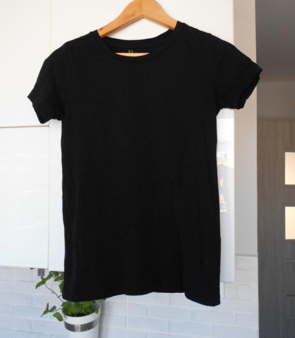 Kappahl czarna koszulka tshirt bawełna organiczna