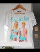 Asos koszulka Barbie beach life print...