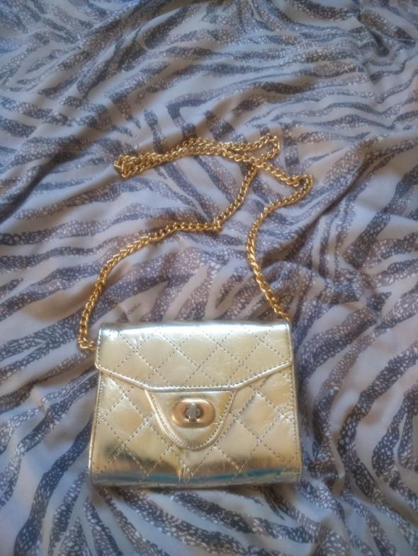 Sylwester studniówka mała złota torebka