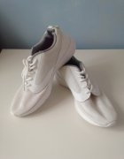 New Look nowe styl nike roshe run białe ecru buty sportowe adid...
