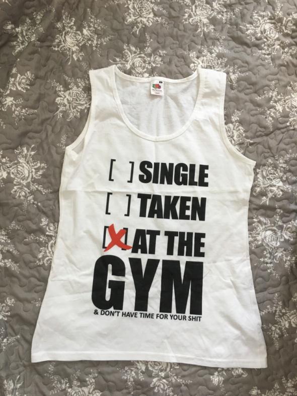 Bluzka top fitness na prezent M...