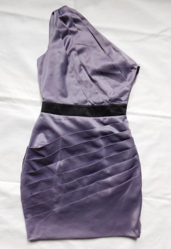 Lipsy sukienka mini fiolet 36