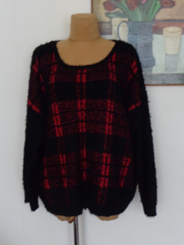 NEW LOOK sweter włochacz 56 58