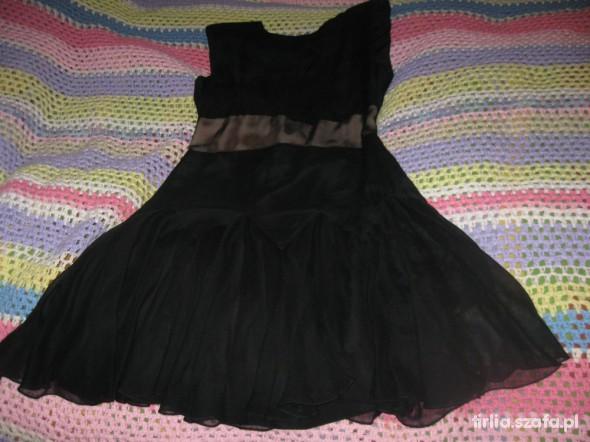 czarna sukienka z USA nowa