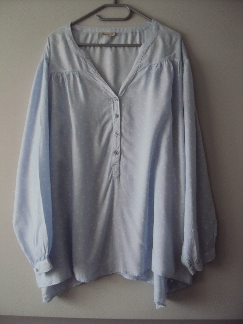 bluzko tunika z kropeczki...