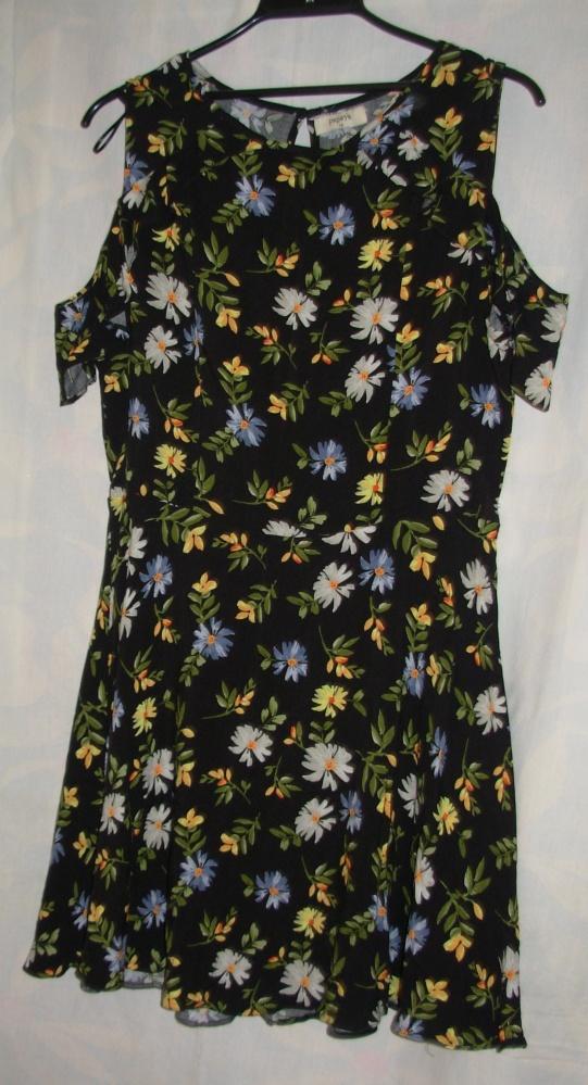 Sukienka z wiskozy PAPAYA 40