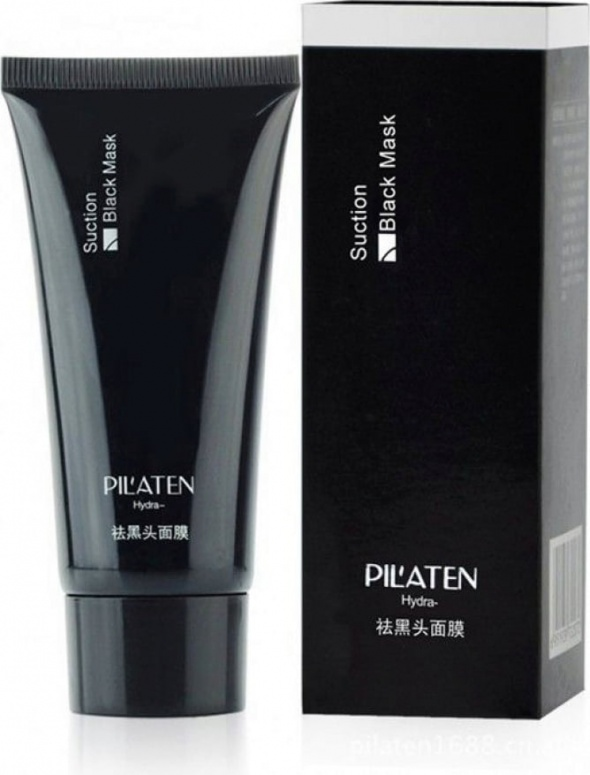 Pilaten Suction Black Mask NOWA