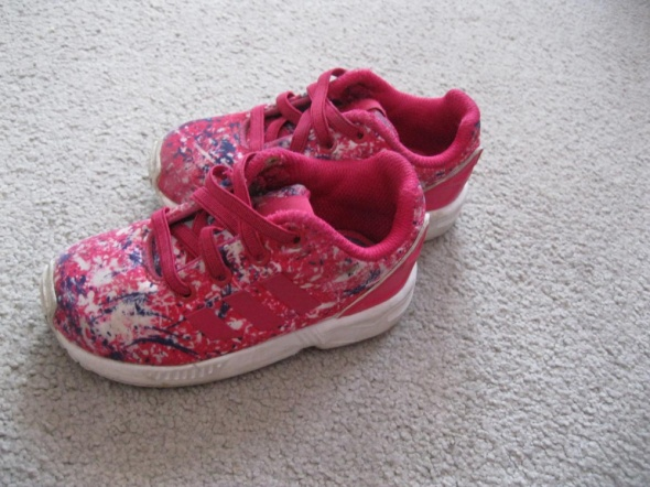 buty sportowe ADIDAS zx flux 22 różowe