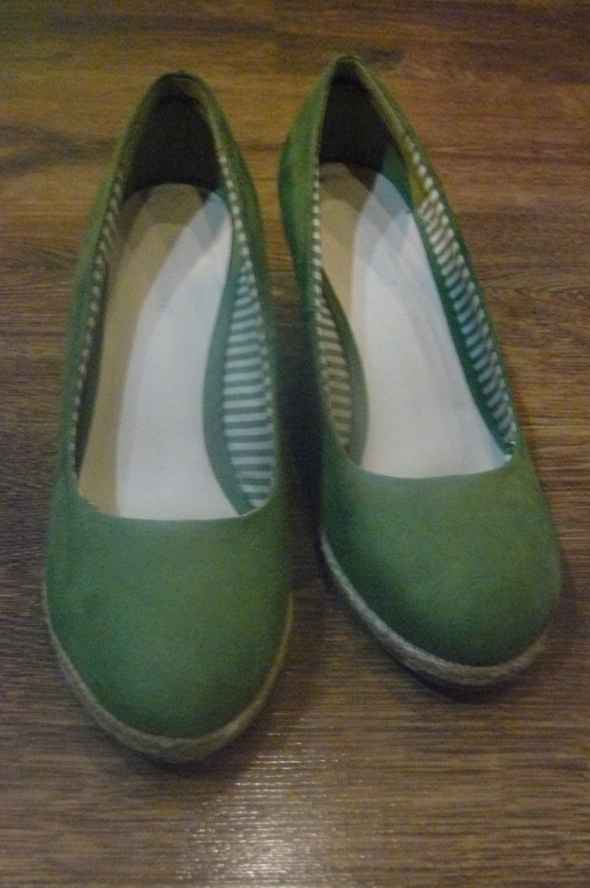 Zielone koturny