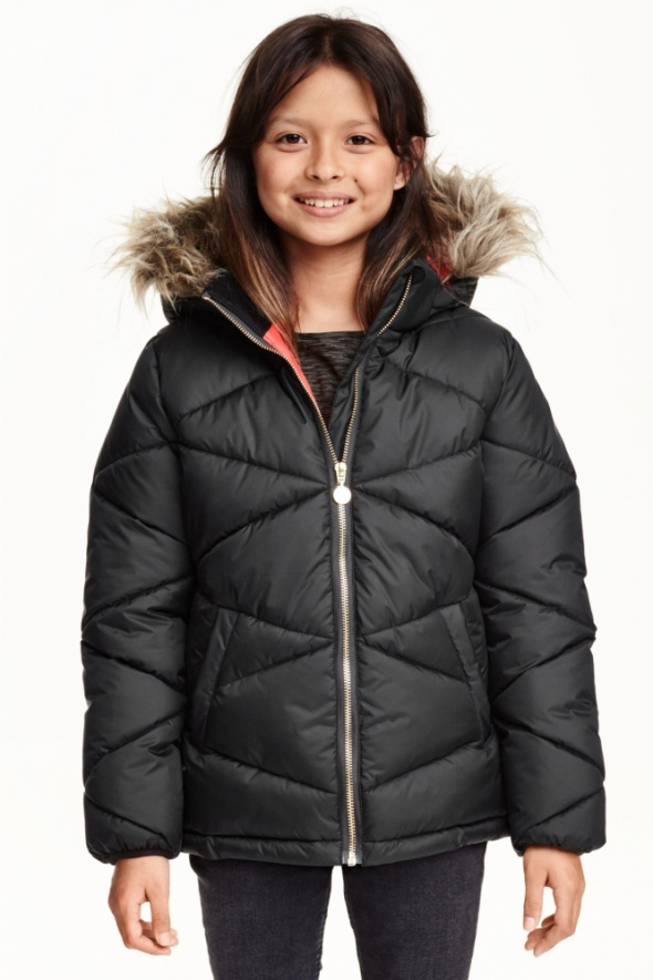 Watowana kurtka zimowa