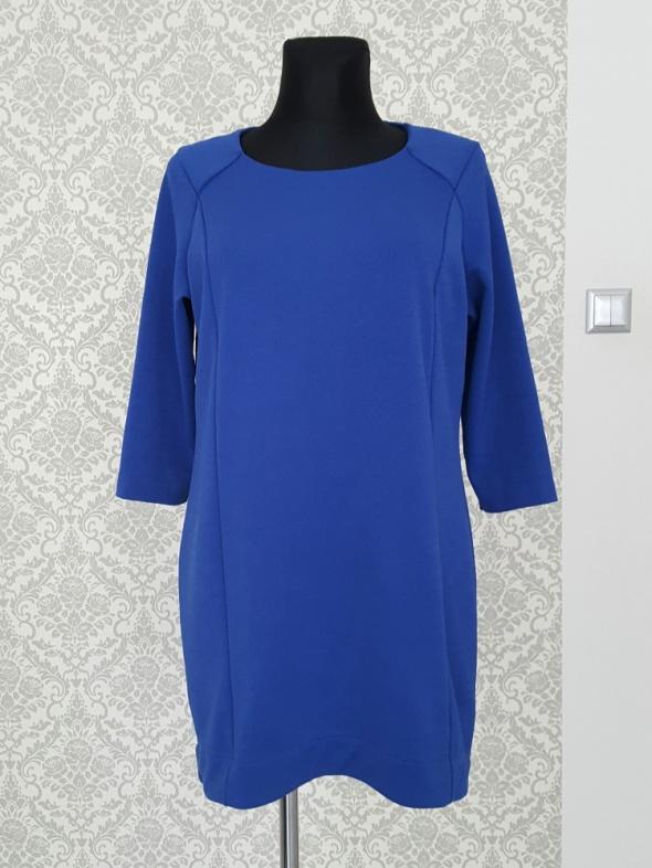luzna niebieska sukienka M&S Collection...