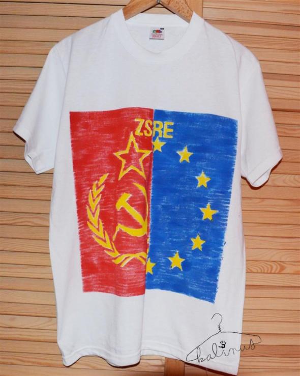 Koszulka Tshirt z nadrukiem ZSRE 38