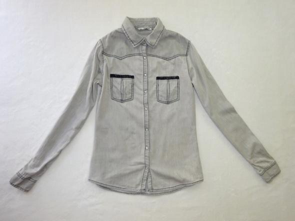 Tally Weijl szara jeansowa koszula jeans 34 XS